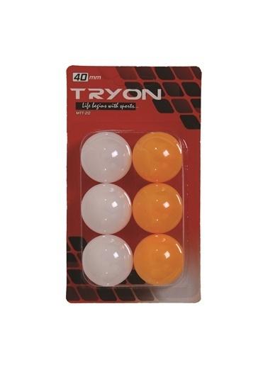 Tryon Tryon Mtt20 6'lı Masa Tenisi Topu Renkli